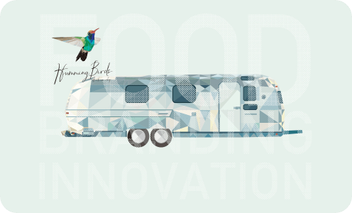 Airstreamを利用したポップアップショップの提供、HummingBirds