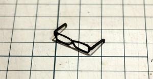 3Dプリンターのメガネ